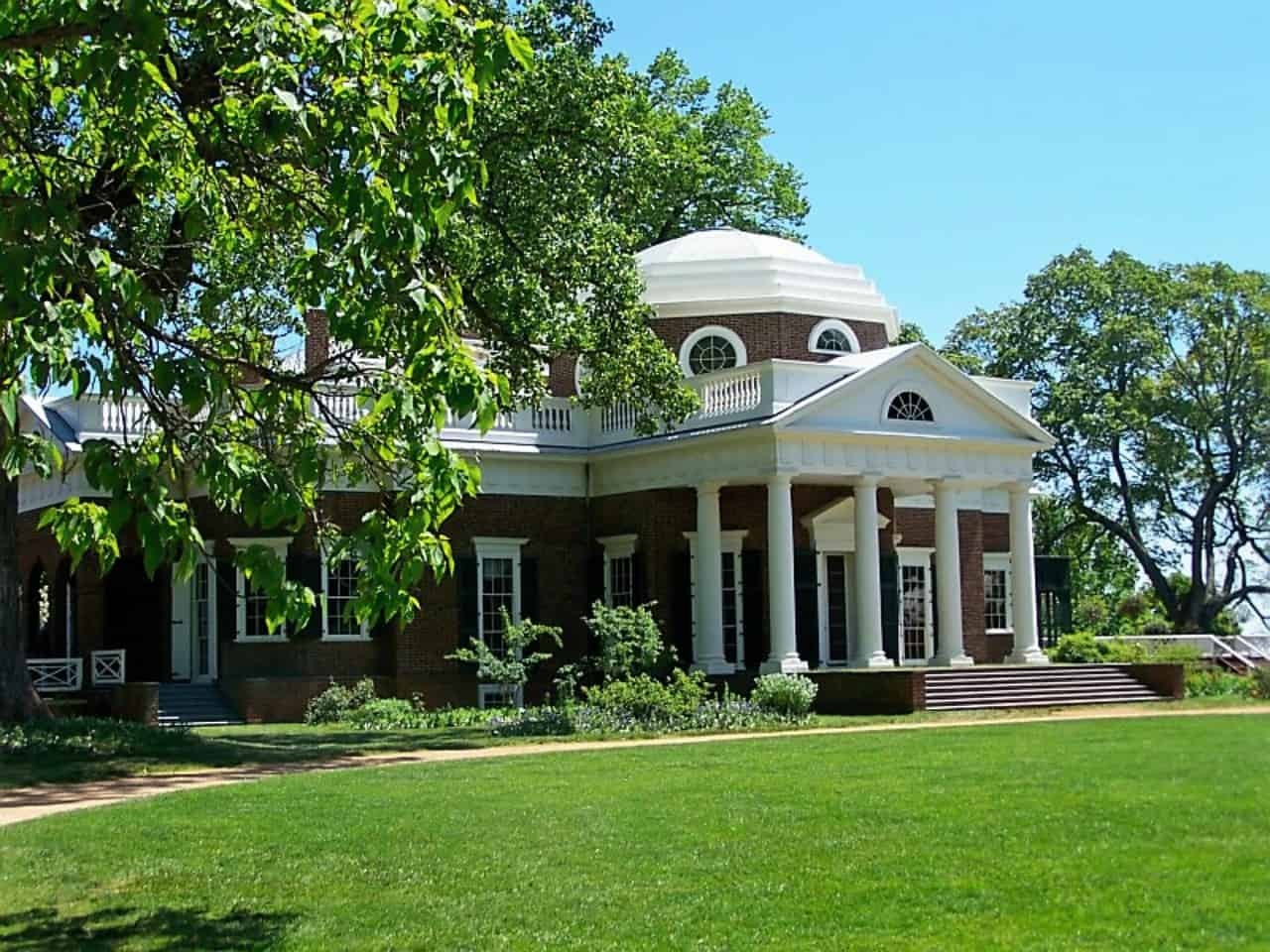 Monticello was the primary plantation of Thomas Jefferson, the third president of the United States.