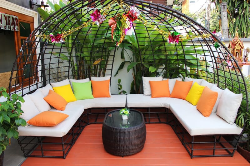Replacing or re-imagining your outdoor patio furniture can create your dream outdoor space.