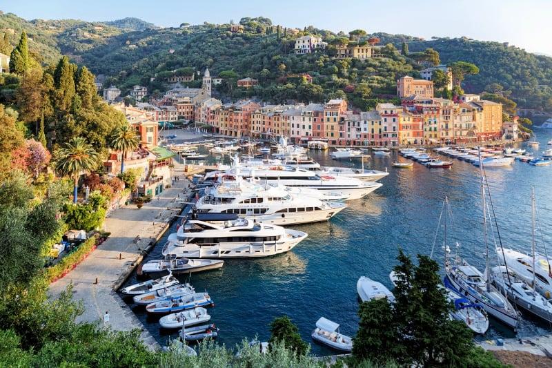 Portofino is one of the coastal towns of Italy in the Italian Riviera.