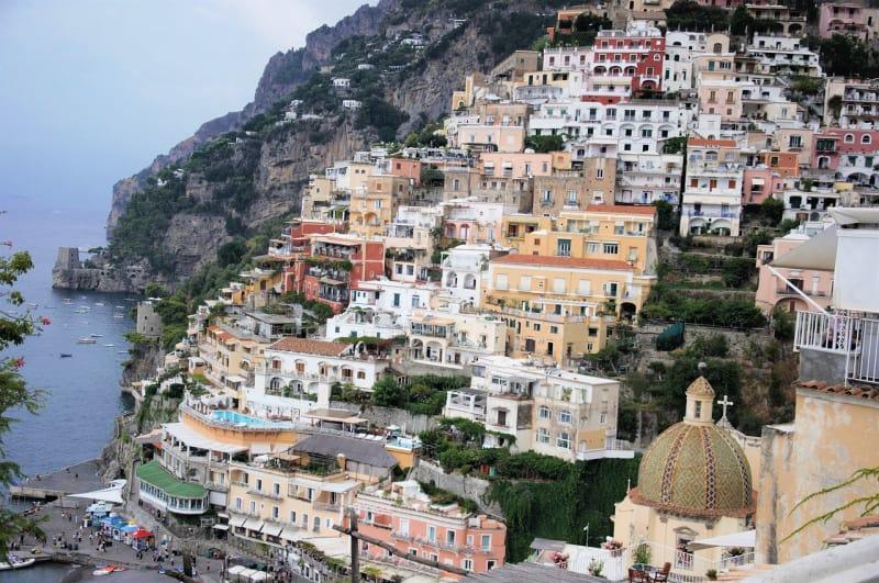 Positano is a cliffside village on southern Italy's Amalfi Coast.