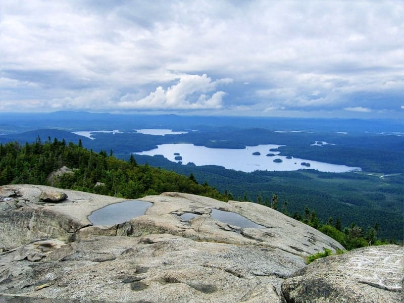 Ampersand Mountain is a 3,352 ft mountain in Franklin County in the High Peaks Wilderness Area of the northeastern Adirondacks, west of the High Peaks proper in New York State.