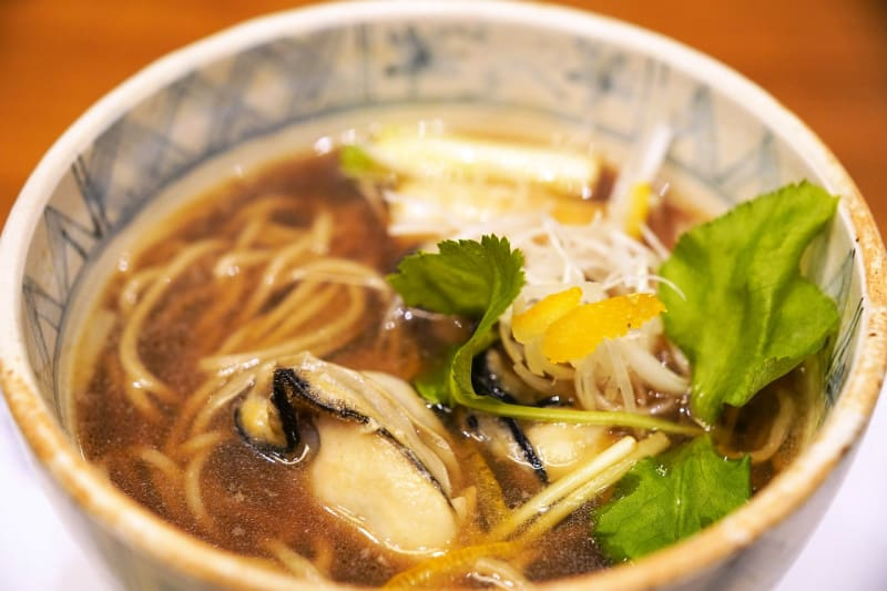 Must-try traditional Japanese foods include soba, a thin Japanese noodle made from buckwheat.