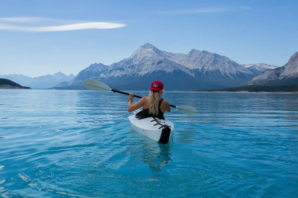 Add kayaking to your active travel vacations and your reward can be these views.