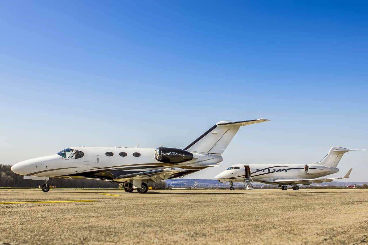 Consider the benefits of private jet flights.
