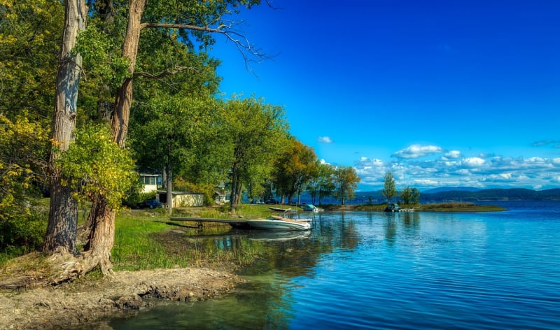 White's Beach is a town beach along West Shore Rd in Vermont