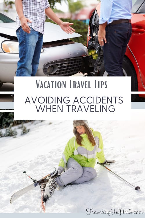 From travel to legal insurance, to taking public transit, these vacation travel tips help avoid accidents when traveling. #vacationtraveltips #avoidaccidentswhentraveling #travel #traveltips