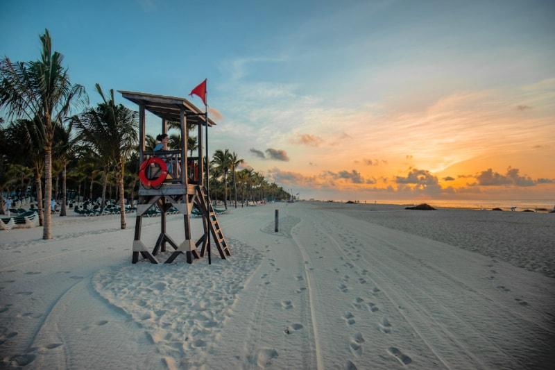 One of my favorite beach weekend romantic getaways is Playa del Carmen, Mexico.