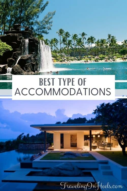 Best types of accommodations? #typesofaccommodations #accommodationtypes #vacationhomes #vacationclubs #hotels #travelinginheels