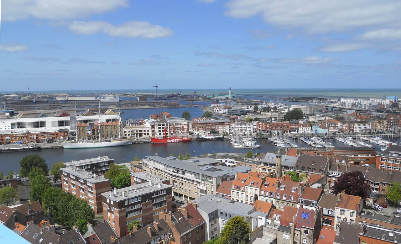visit the coastal city of Dunkirk in northern France, via the Dover Dunkirk ferry.