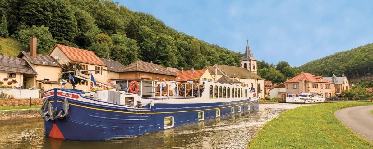 Hotel Barge Panache Photo Courtesy: European Waterways