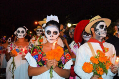 The Day of the Dead is a Mexican holiday celebrated in Mexico and elsewhere associated with the Catholic celebrations of All Saints' Day and All Souls' Day, and is held on November 1 and 2.
