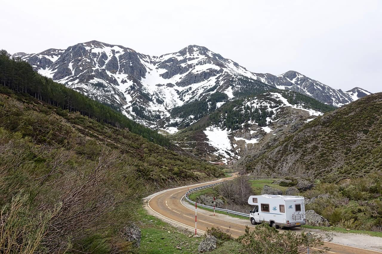 RVs are meant for all-season road trips including winter. Photo: Pixabay