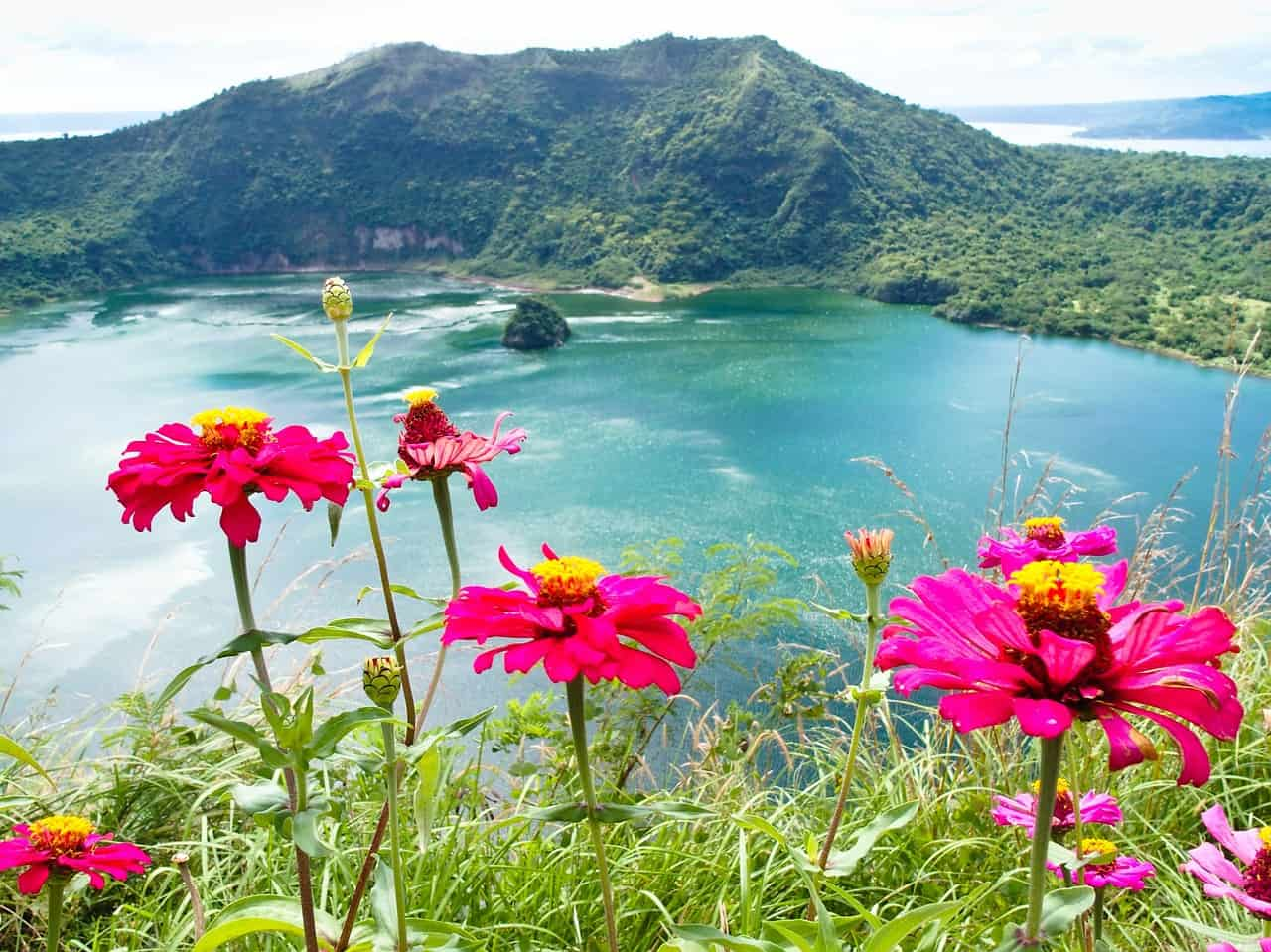Taal Lake, formerly known as Bombón Lake, is a freshwater volcanic crater lake in the province of Batangas, on the island of Luzon in the Philippines.
